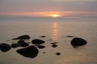 Rīts pie jūras